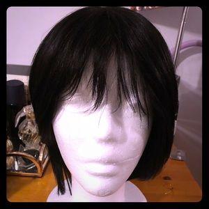 💯 100% Human hair wig